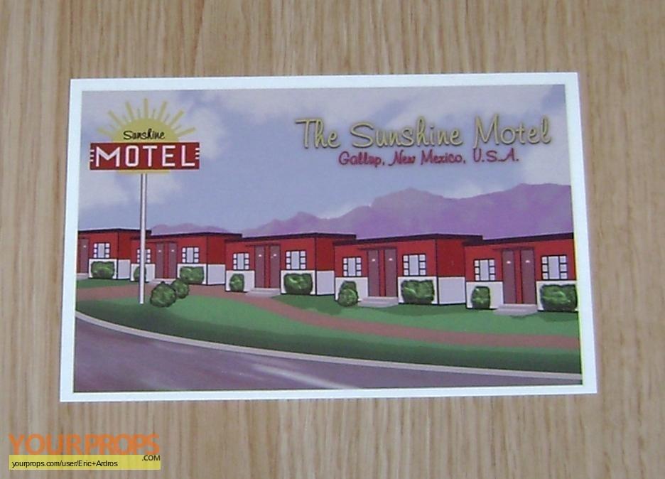 The Lost Room Motel Postcard replica TV series prop
