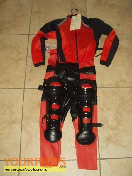 Spy Kids 3-D Game Over original movie costume ... & Spy Kids 3-D: Game Over Arnoldsu0027 screen used Hero outfit original ...