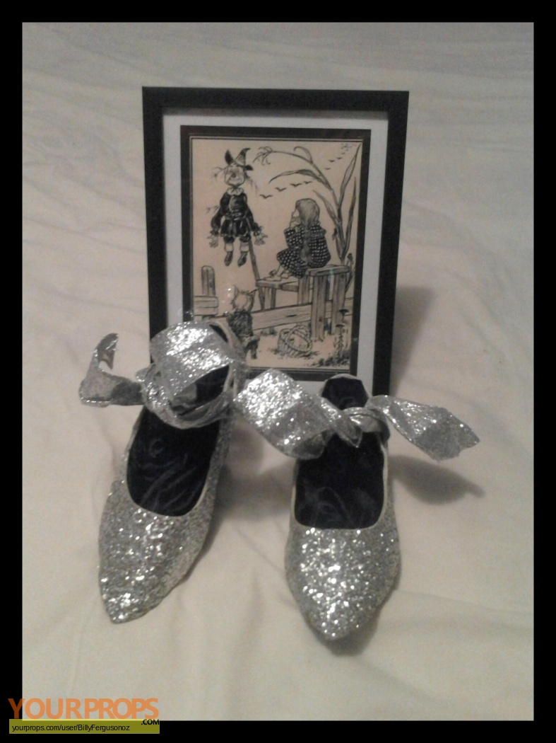 The Wizard Of Oz Silver Slippers Replica Movie Costume