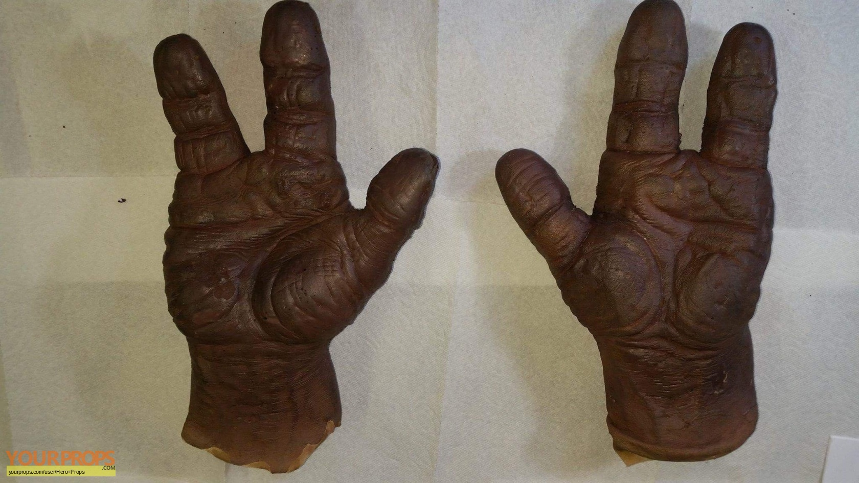 Mortal Kombat Screen Used Goro Hands And Feet Original Movie Prop