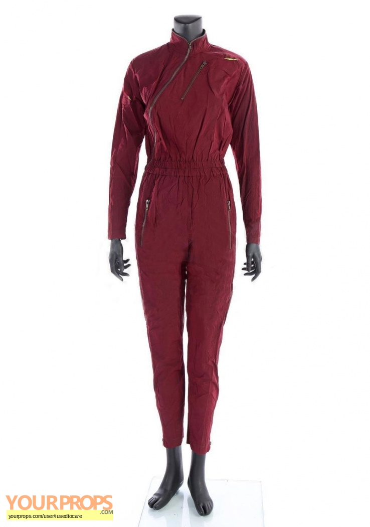 Ghost In The Shell Major Scarlett Johansson Screen Worn Jumpsuit Original Movie Costume