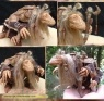 The Dark Crystal scaled scratch-built movie prop