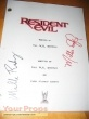 Resident Evil replica production material