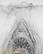 Jaws original production artwork
