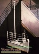 Titanic replica production material
