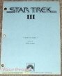 Star Trek III  The Search for Spock original production material