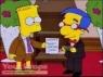 The Simpsons replica movie prop