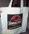 Jurassic Park replica movie prop