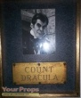 Mystery in Draculas Castle original movie prop