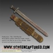 The 13th Warrior original movie prop weapon
