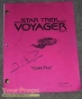 Star Trek  Voyager original production material