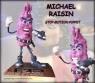 Michael Raisin (TV commercial) original movie prop
