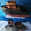 Ghost Ship original model   miniature