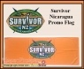 Survivor New Zealand  Nicaragua original set dressing   pieces