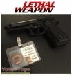 Lethal Weapon replica movie prop