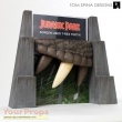 Jurassic Park original movie prop
