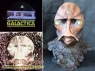 Battlestar Galactica replica make-up   prosthetics
