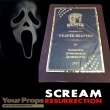Scream Resurrection original movie prop