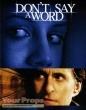 Dont Say A Word original movie prop