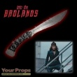 Into the Badlands original movie prop