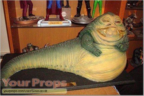 Jabba the Hutt maquette.