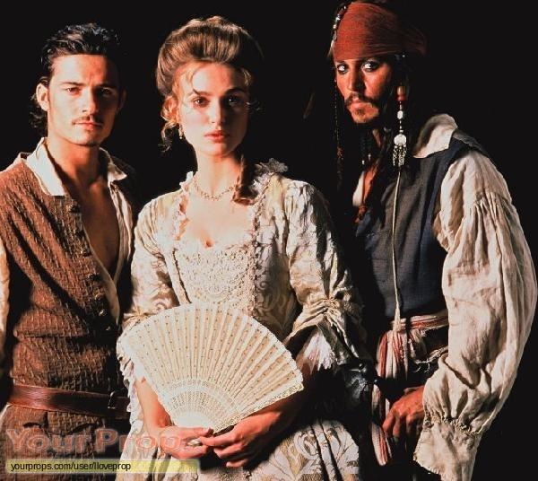 Elizabeth Swann(Keira Knightley) main dress
