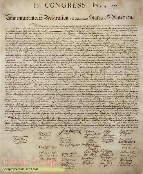 The Real Declaration Of Independence